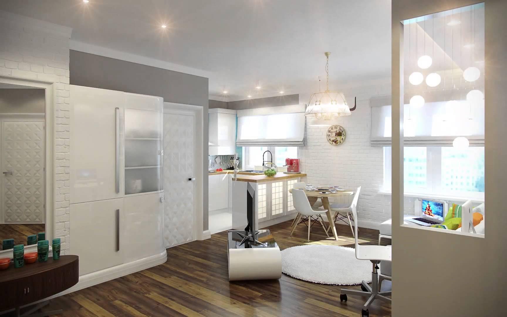 Однокомнатной квартиры дизайн 31