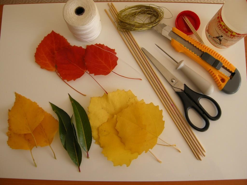 Ветки и листья своими руками фото 382