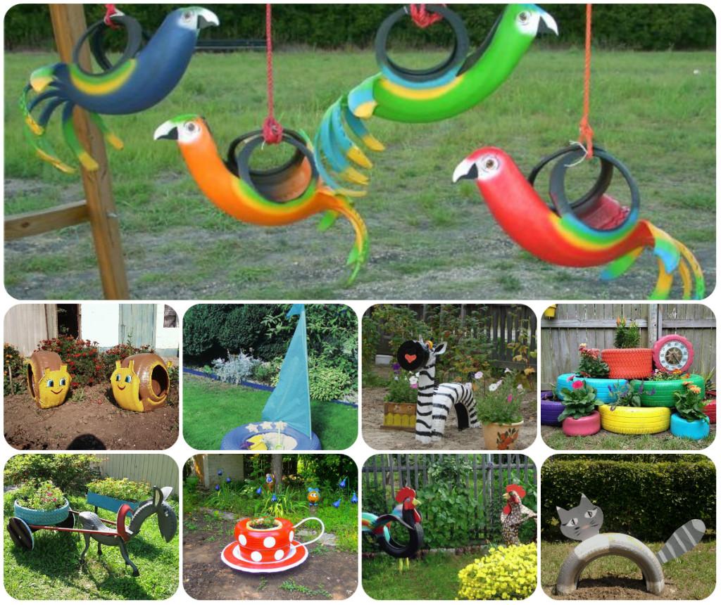 Идеи сада поделки своими руками фото 531