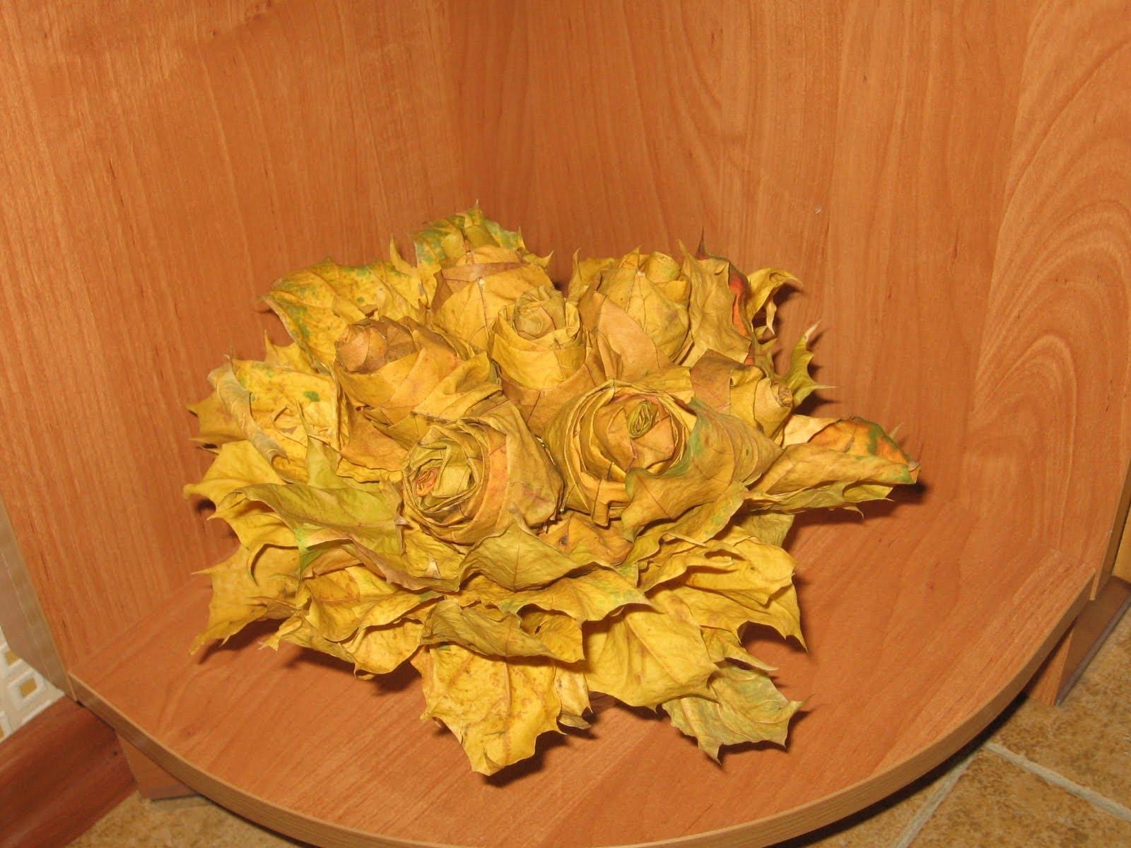 Топиарий из листьев клена - 1