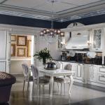 Интерьер кухни в классическом стиле 1