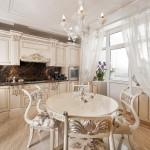 Интерьер кухни в классическом стиле 2