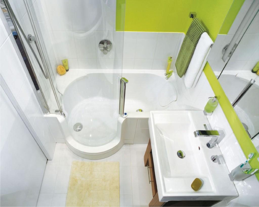 Маленькие ванные комнаты. Фото дизайн