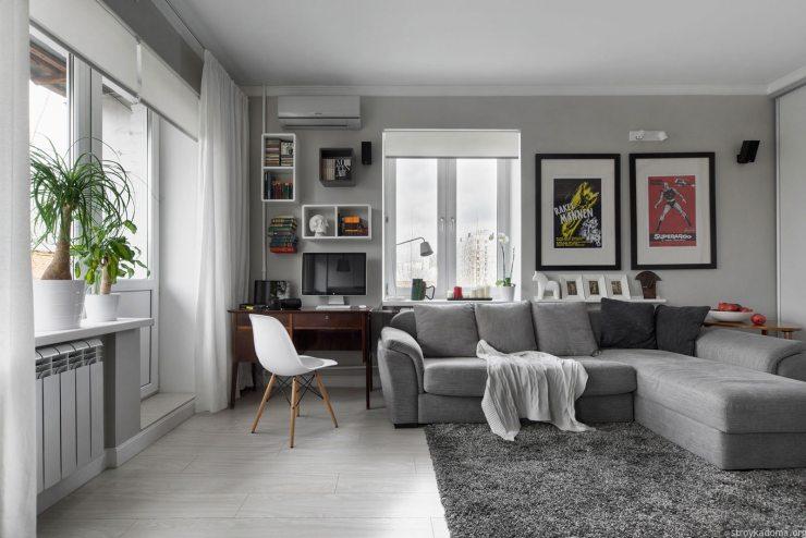 Современная квартира: варианты дизайна и свежие идеи 2018