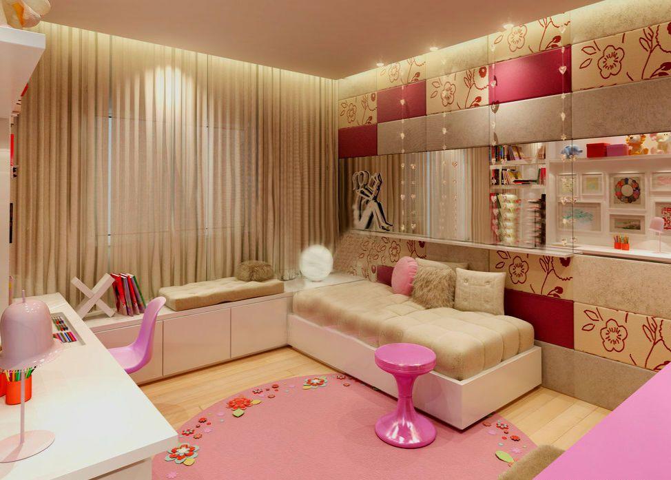 Дизайн детской комнаты с модульной мебелью