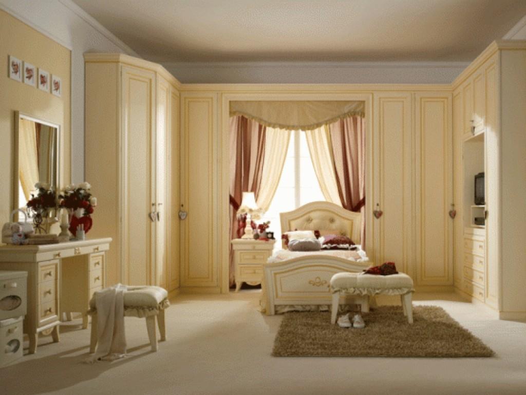 Идея оформления детской комнаты в классическом стиле