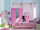 Детская комната в розовых тонах для девочки
