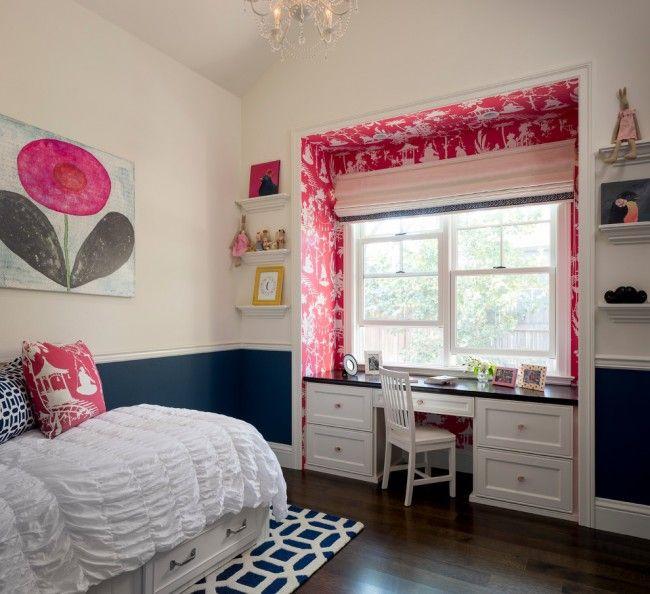 Идея интерьера комнаты для девочки