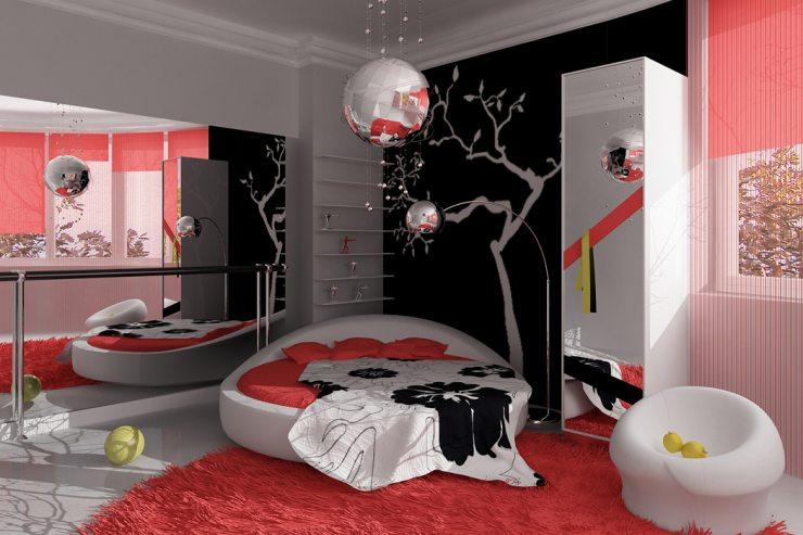 Вариант цветового решения для детской комнаты