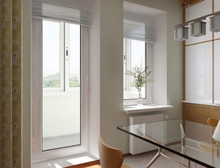 Балконная пара на кухне 2