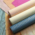 Разноцветные текстильные обои