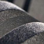 Текстильные обои серого цвета