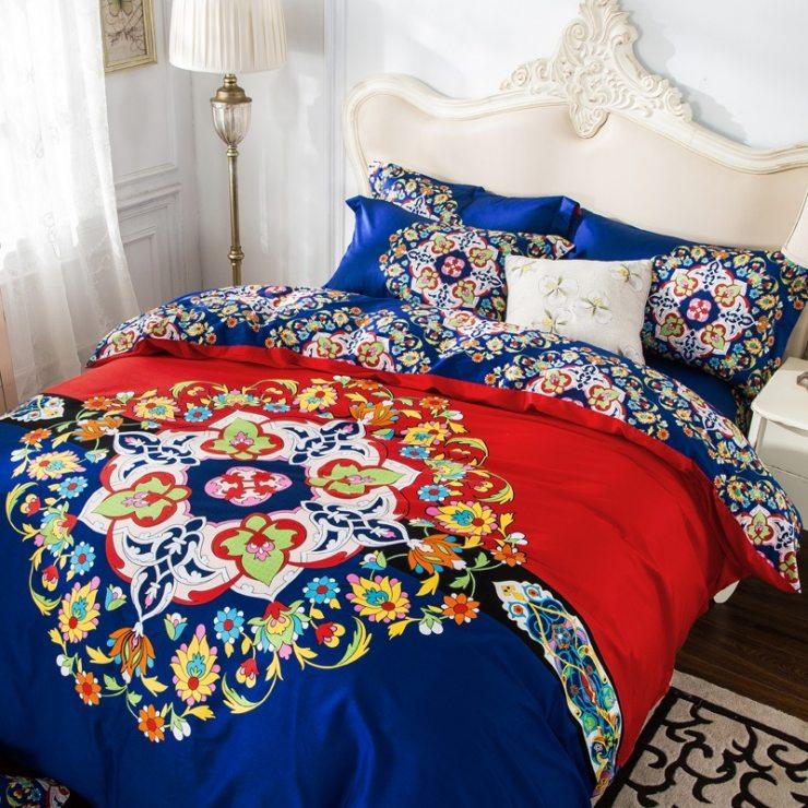 Текстиль и декор прованской спальни