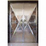 Ажурная дверь в стиле ар-деко