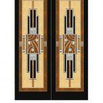 Дверь дизайна студии Ричарда Смита в стиле ар-деко