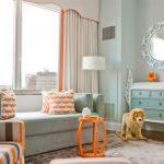 Интерьер комнаты новорожденного в стиле ар-деко