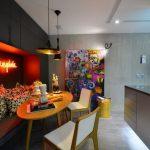 Обстановка кухни с уютной нишей