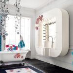 Изящное оформление ванной комнаты