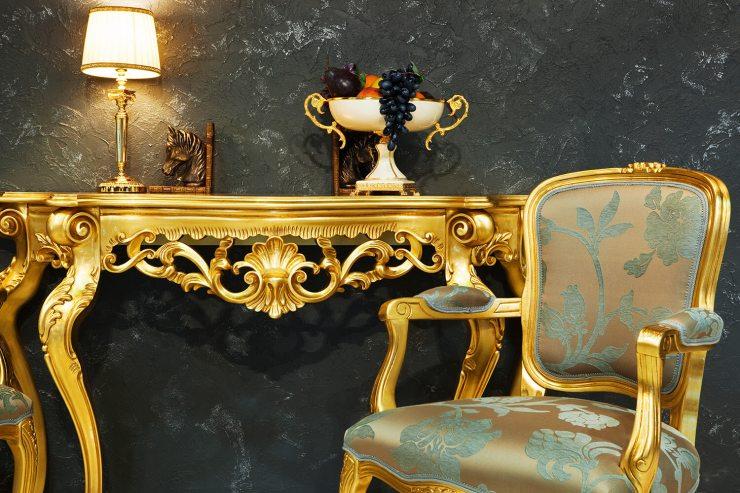 Краска Levis Gold под золото в стиле ар-деко