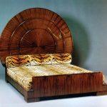 Кровать в стиле ар-деко