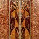 Лифт с инкрустацией в стиле ар-деко