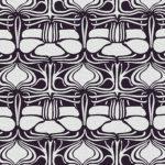 Паттерн для обивочной ткани в стиле ар-деко
