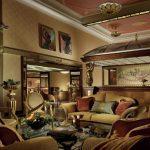 Пример интерьера ар-деко: холл отеля