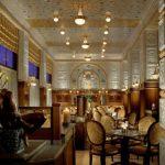 Пример интерьера ар-деко — ресторан