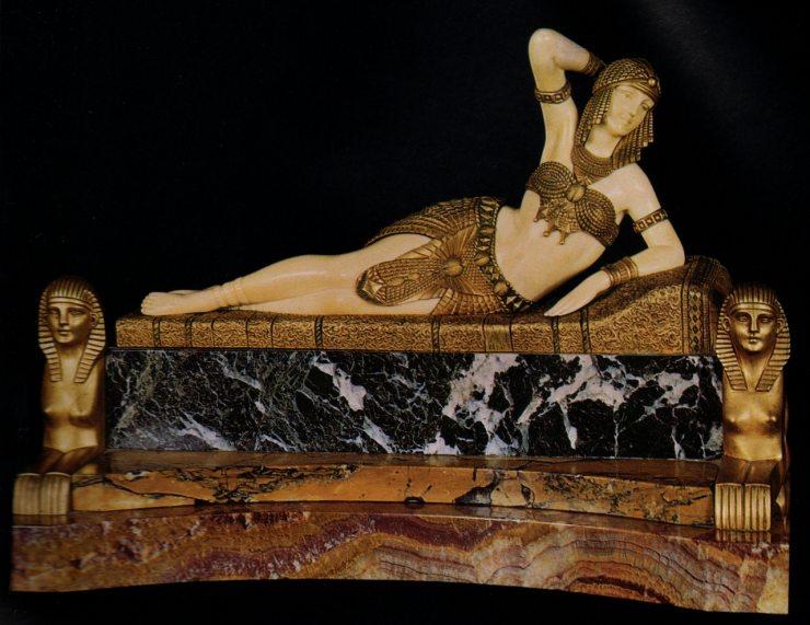 Скульптура Деметера Чипаруса в стиле ар-деко