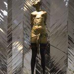 Скульптура «Девушка с хлыстом» Бруно Зака
