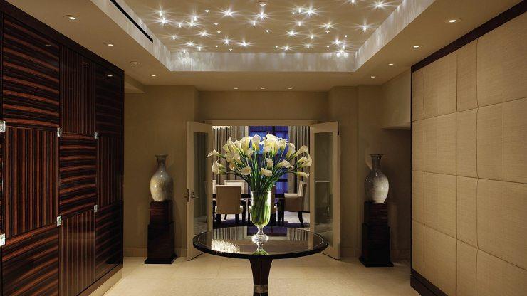 Светодиодное потолочное освещение в стиле ар-деко