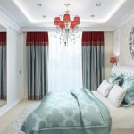 Три цвета спальни