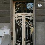 Винтажная дверь в стиле ар-деко