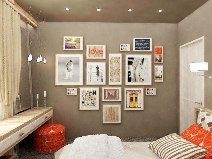 Картины в спальне по фен-шуй