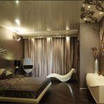 Современная спальня по фен шуй