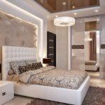 Спальня по фен шуй в пастельных тонах