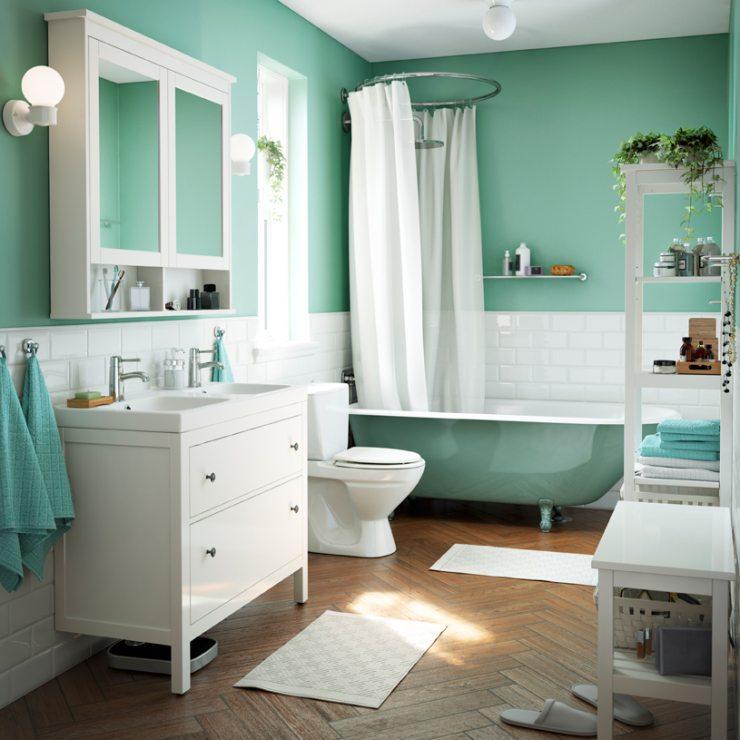 Дизайн ванной комнаты от ИКЕА