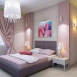 Декор в спальне светлых тонов