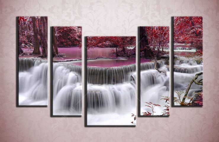 Картина «Японский водопад»