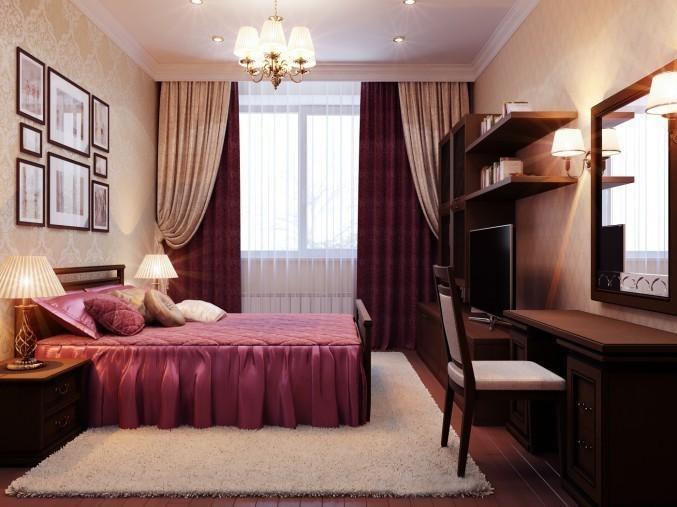 Светлая спальня пожилых людей