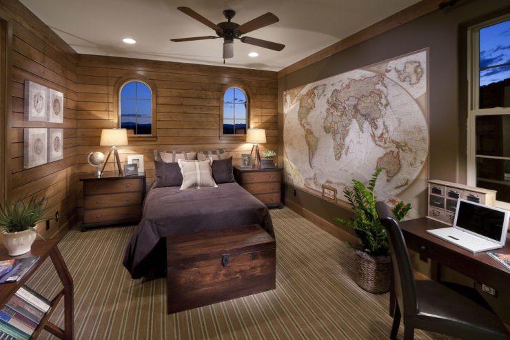 Светлая спальня путешественников