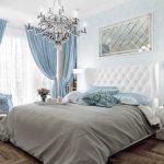 Спальня в спокойных тонах
