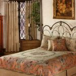 Спальня в старинном стиле