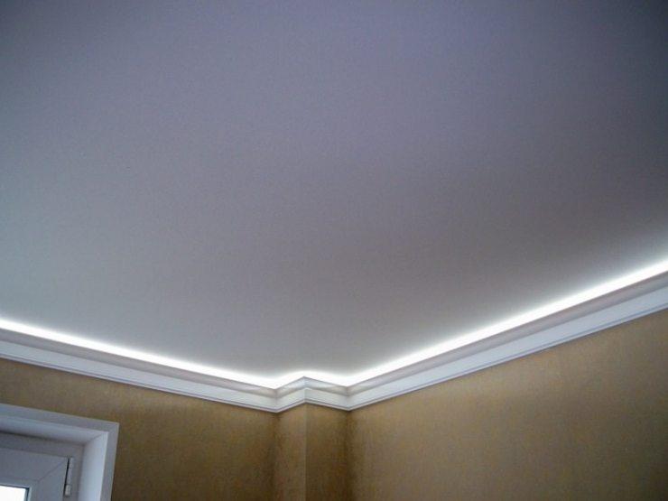 Одноуровневый подвесной потолок