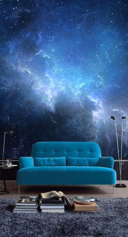 Фотообои с изображением ночного неба