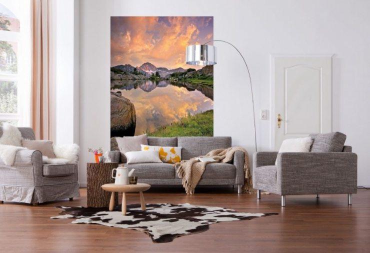 Фотообои с видом на озеро