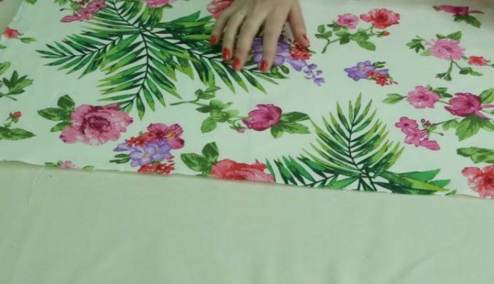 Ткань с цветами для ламбрекена