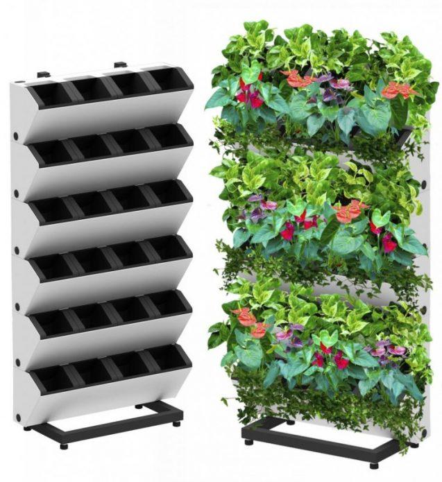 Контейнеры для вертикального озеленения