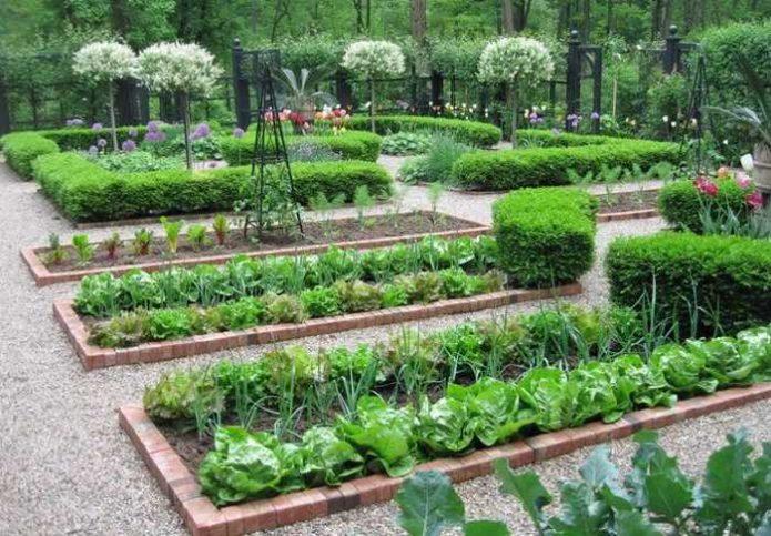 Садовая зона в ландшафтном дизайне