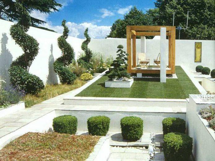 Архитектурный стиль в ландшафтном дизайне участка